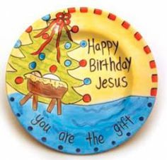 Sparkles: Happy Birthday Jesus Party with great game ideas, birthday cake, etc