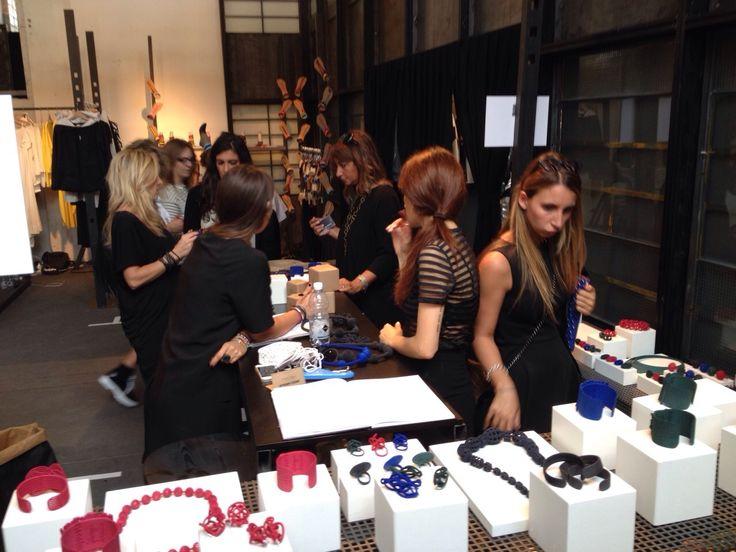 #bijouets at White Show Milan #3dprinting