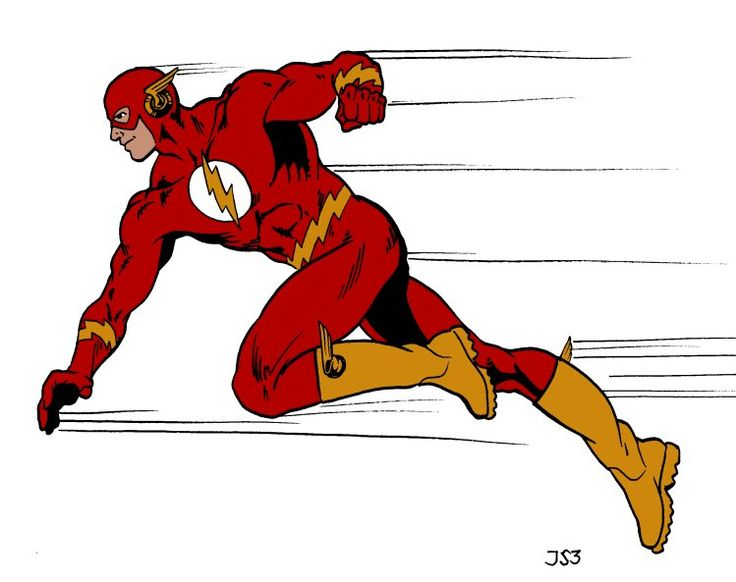 dc flash running animated yahoo image search results - Flash Running Coloring Pages