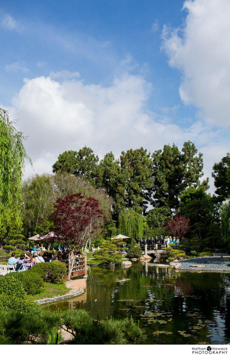 Csu Long Beach Earl Burns Miller Japanese Garden Wedding Sheryl And John Cermony At The