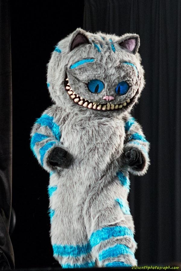 Cheshire Cat Costume Blue Men