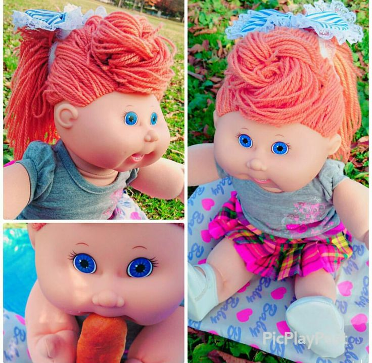☆ キャベツ人形 Cabbage patch Dolls kids custom style hair