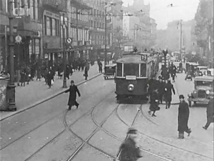 Prague – Na Příkopě Street, 1938