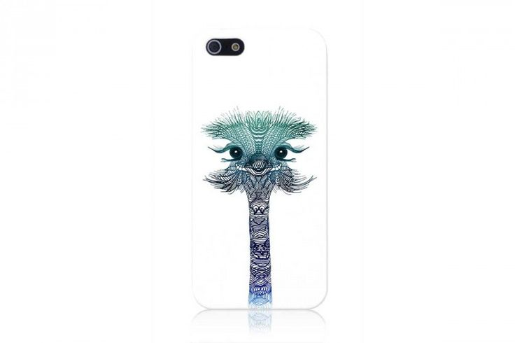Coque Iphone - Ostrich Mint - The Tops
