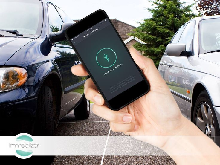 The iBlue Immobilizer is suitable for several vehicles: with this application the details of several vehicles can be stored simultaneously, and knowing the PIN code will also allow the operation of several vehicles.