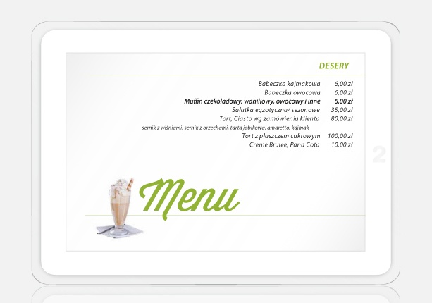 offer made ​​for a catering company