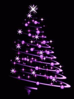 Sparkling Purple Christmas