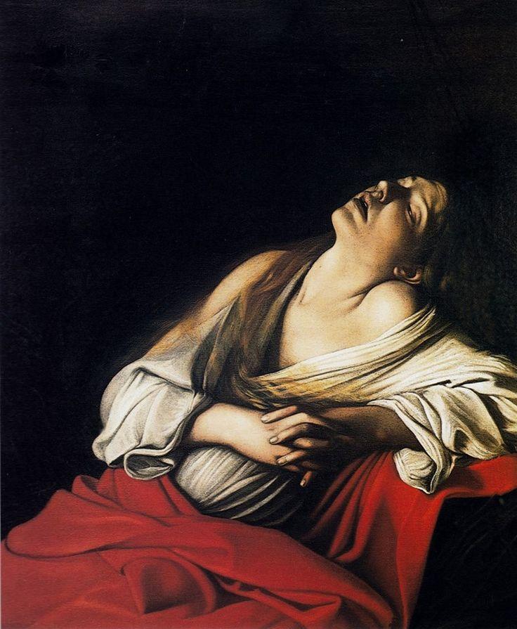Le Caravage (1571-1610),  -  Maria Maddalena en extase, 1606.