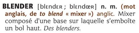 Les mots nouveaux du dictionnaire Robert illustré - © Le Robert