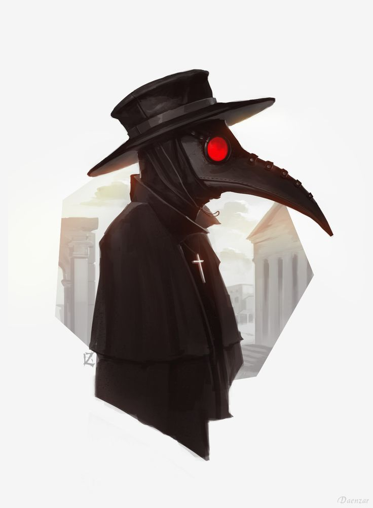 Plague doctor, Daenzar . on ArtStation at https://www.artstation.com/artwork/Z9E4x