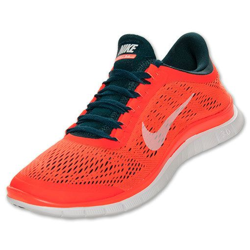 new styles eeb7a dc078 Nike Free 3.0 V5 Mens Original Running Midnight Turquoise White Total  Crimson