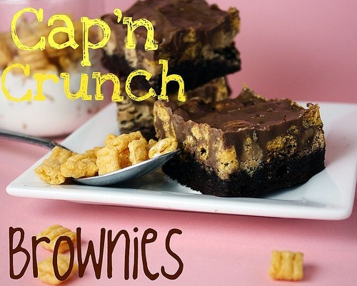 captain crunch brownies  #on-the-sweet-side