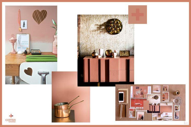 17 best images about flexa 39 s colour of 2015 copper for Interieur kleuren 2015