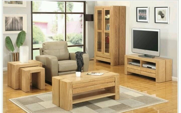 Chunky Solid Oak Lounge furniture. The Pentland Oak Furniture Collection.