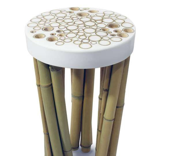 The Bamboo Cell Collection Inspired by East Asian Forrestry #bamboo #furniture trendhunter.com