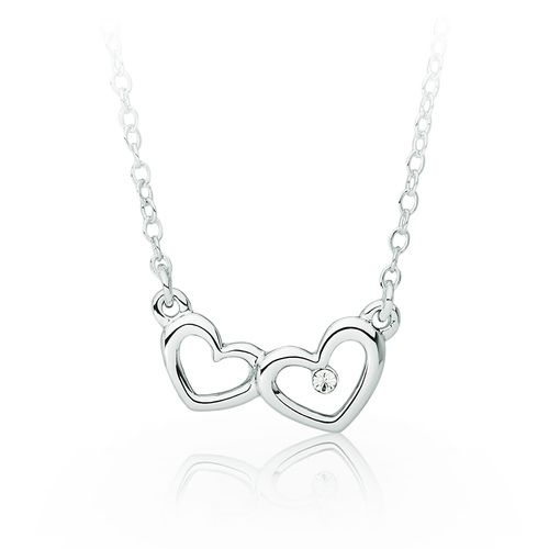 Love! Two Hearts in Love Pendant