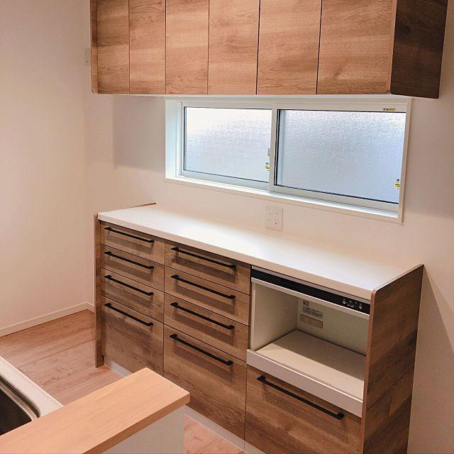 カップボード ステディア 勝美住宅 収納 キッチン などのインテリア