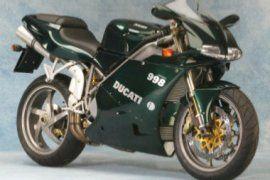 SPECIFICATION OF DUCATI 998 Matrix 2003