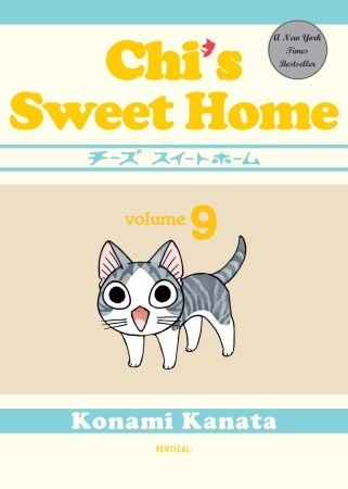 Now reading: Chi's Sweet Home vol. 9! (Obtained early at Comic-Con 2012)
