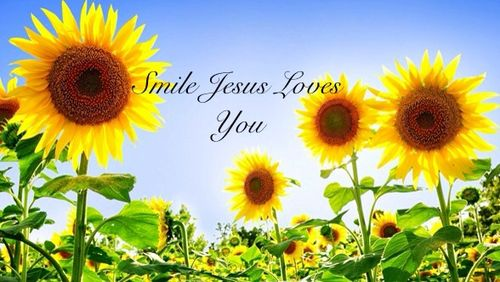 Smile Jesus Loves You!!