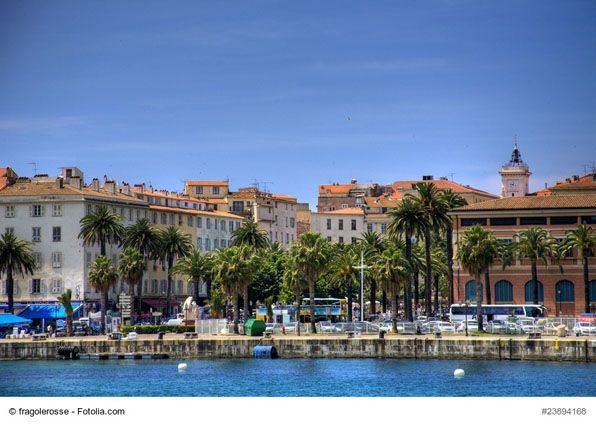 Old Town of Ajaccio, Corsica, France - Stroll around the old town and discover the picturesque houses, local cafes and ancient narrow streets that will take you strait to the waterfront. Enjoy the atmosphere of the town known for being the birthplace of Napoleon Bonaparte.