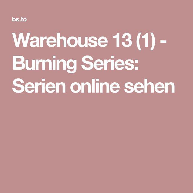 Warehouse 13 (1) - Burning Series: Serien online sehen