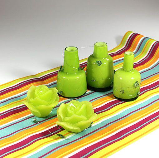 Inspiration til borddæking. Find alt til denne borddækning på www.mystone.dk