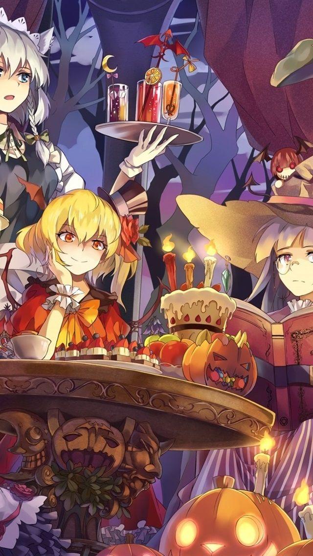 Schone Anime Girls Halloween 1920x1200 Hd