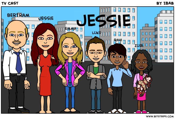 Jessie (TV show) cast