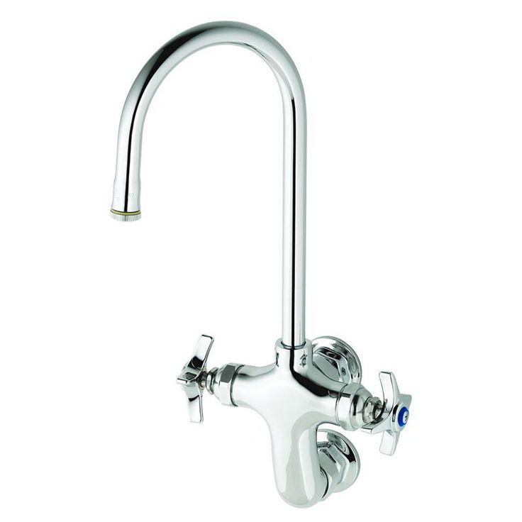 T S B 0315 Splash Mount Pantry Faucet W 5 1 2 Gooseneck Nozzle Faucet Sink Wall Mount Faucet