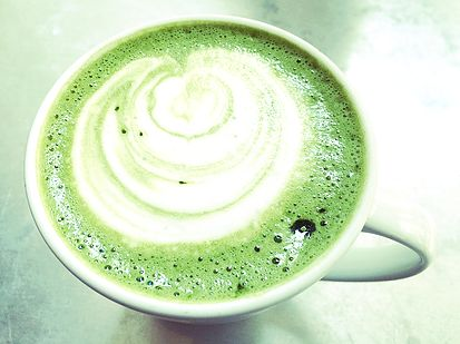 Matcha coffee - The Bookary Magazine