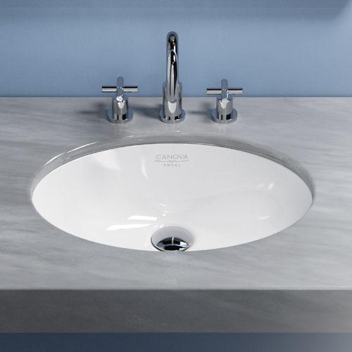 Canova Royal Under Counter Basin Oval   Underbowls   Basins   Bathrooms