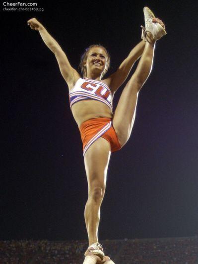 Hot college cheerleaders upskirt