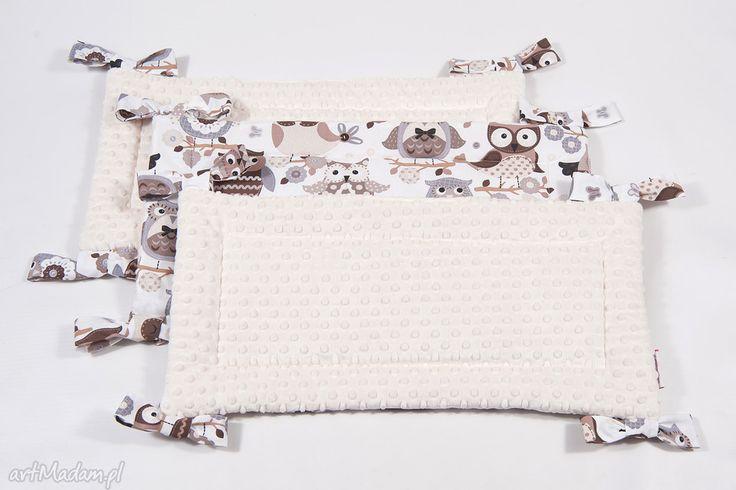 Ochraniacz minky sowy pokoik dziecka and cotton łóżeczko