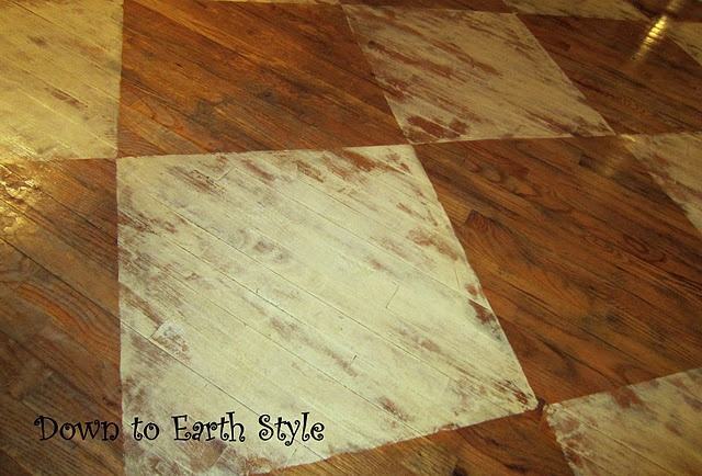 314 best interior images on pinterest child room for Refinishing painted hardwood floors