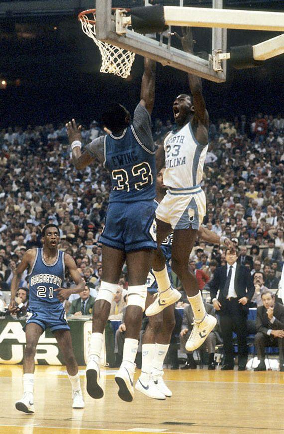 Michael Jordan over Ewing