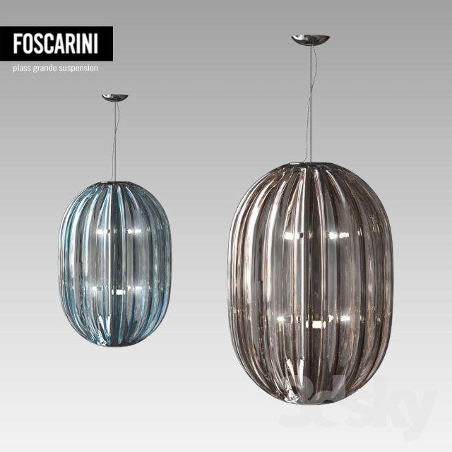 FOSCARINI Plass grande suspension