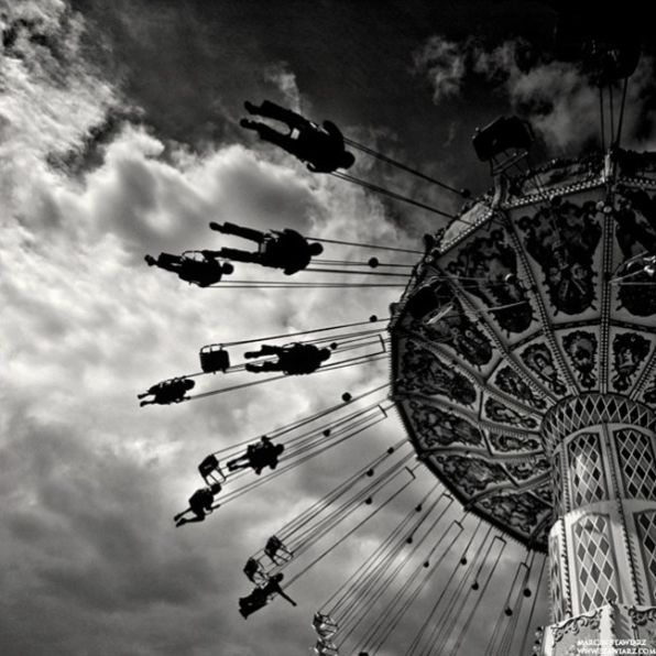 Remember when you were a child and the rides at the fairs or amusement parks seemed so long and large.