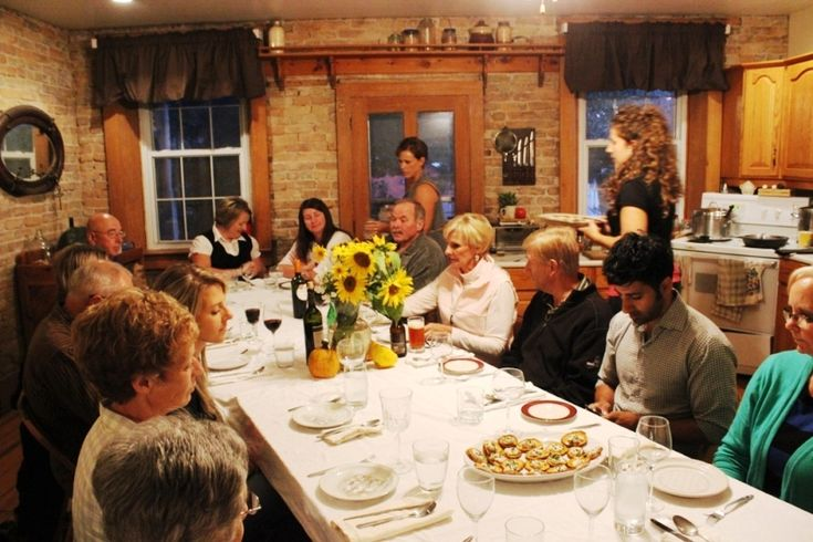 Dinner with the Farmer's Daughter event at Vibrant Farms located in southwestern Ontario near Kitchener-Waterloo.