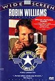When his manic radio show proves a huge morale-booster, Armed Forces Radio disc jockey Adrian Cronauer gets sent to Vietnam, where his monkeyshines -- lampooning any and all sacred cows -- tickle the troops but land him in trouble with his superiors.