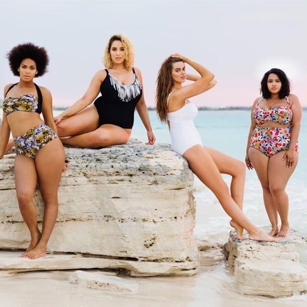 Mollige Frauen im Bikini: Swimsuits For All Kalender