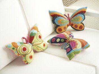 Moldes para hacer peluches de mariposas (1)