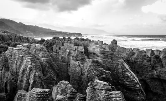 Pancake Rocks af Rasmus Bendixsen