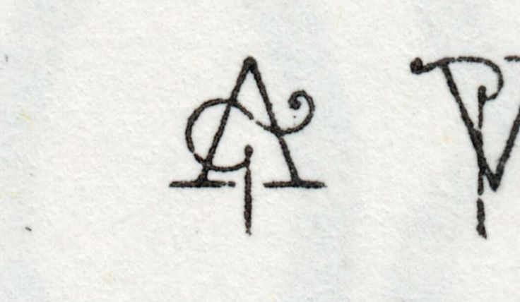 I guess this A is for King Arthur! (12pt Ivy, in 1960 Morgan Press specimen)
