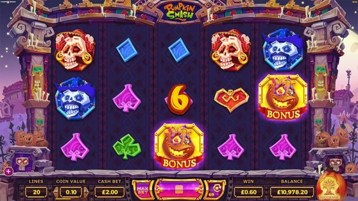 New Pumpkin Smash Slot Launched By Yggdrasil