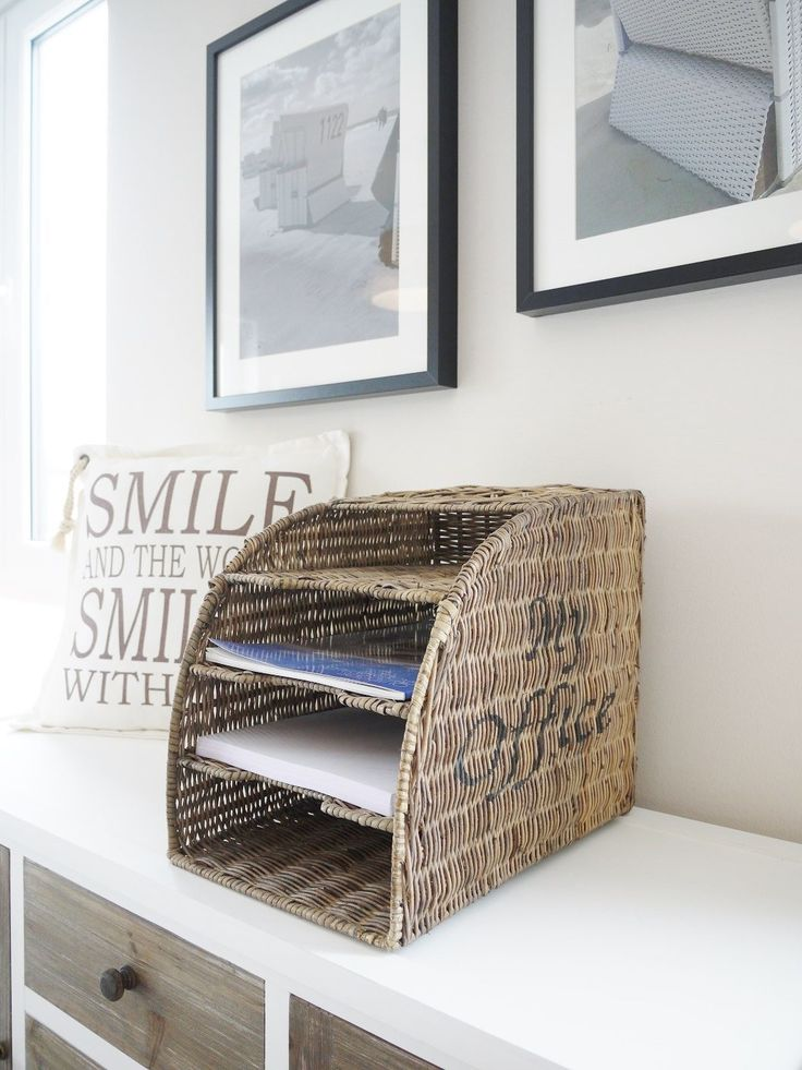 Organizador hecho de papel reciclado - Organizer made of recycled paper