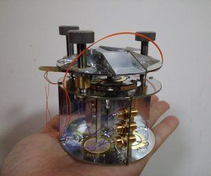 A Low Cost Educational Atomic Force Microscope 教育型原子力顯微鏡