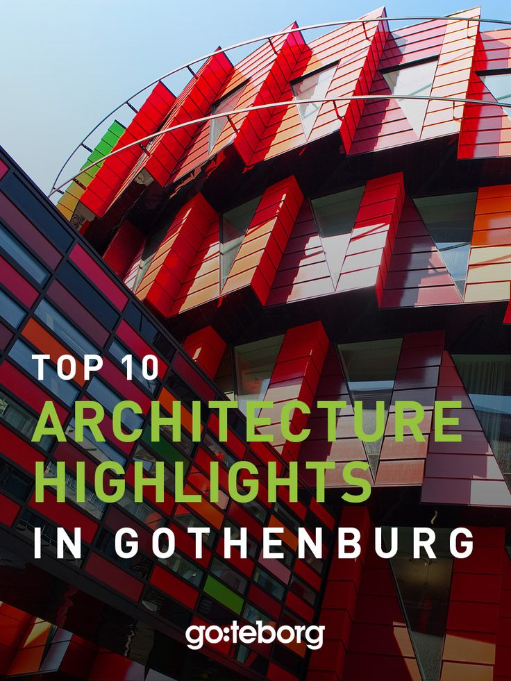 Architecture and design must-sees in Gothenburg, Sweden. | goteborg.com | Photo: Beatrice Törnros