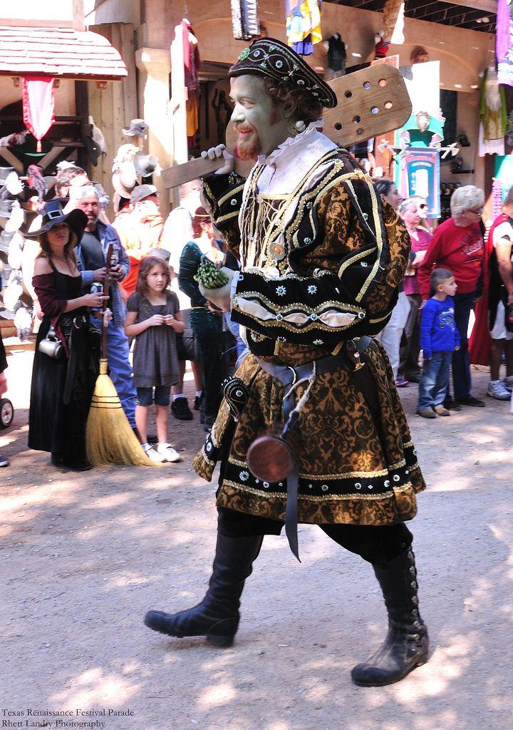 Texas Renaissance Festival Parade