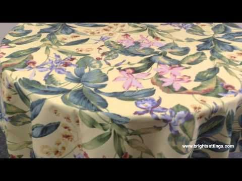 Tablecloth - Orchid Fabric
